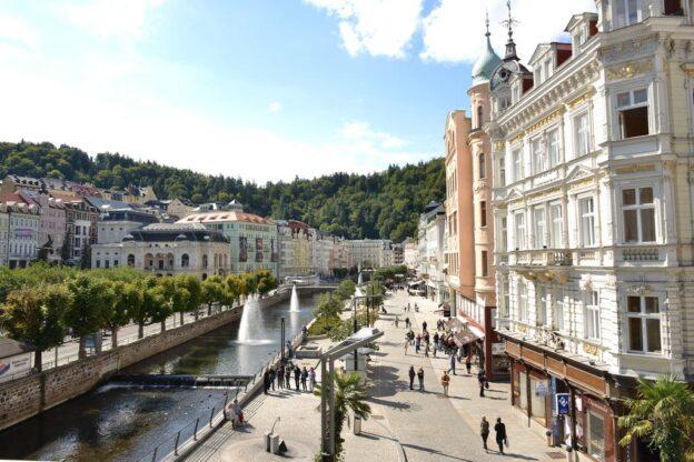 Kurophold Luxury Spa Hotel Atlantic Palace Karlsbad Karlovy Vary Tjekkiet | Kurophold Tjekkiet